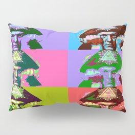 Aleister Crowley Pop Art Pillow Sham