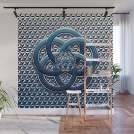 Geodesic Day  Wall Mural