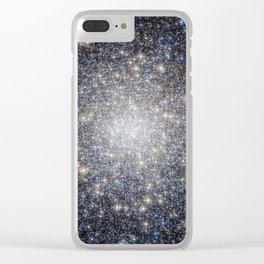 Global Cluster Clear iPhone Case