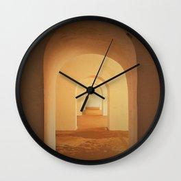 Puerto Rico Doors Wall Clock