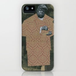 BIG POPPA iPhone Case