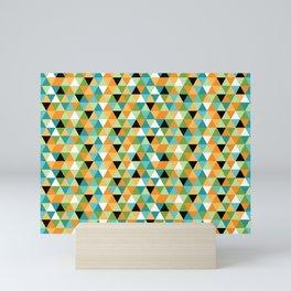 Scandy Triangles Mini Art Print