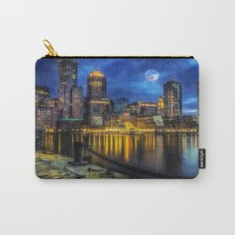 Downtown At Night Carry-All Pouch