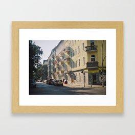 Summer in Berlin Framed Art Print