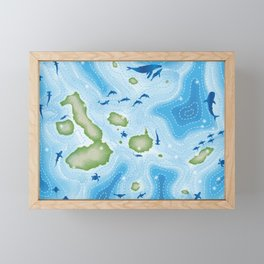 Enchanted Islands Framed Mini Art Print