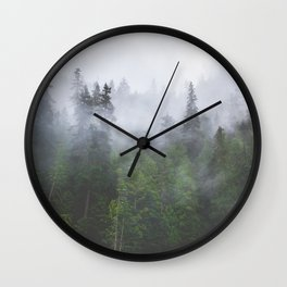 Into the Fog II Wall Clock