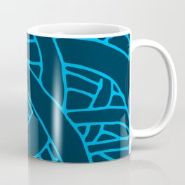 Microcosm in Blue Coffee Mug