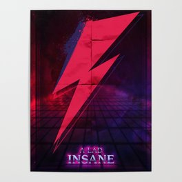 A lad insane Poster