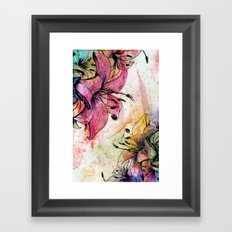 Flowerz Framed Art Print