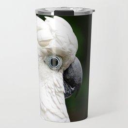 Umbrella Cockatoo Travel Mug