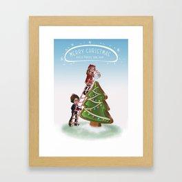Merry Chritsmas Framed Art Print