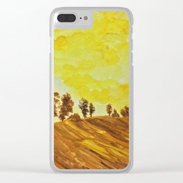 Warmest of Autumns Clear iPhone Case