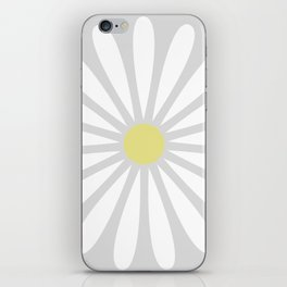 Pale Daisy iPhone Skin