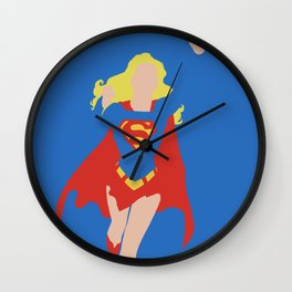 Kara Zor-El Wall Clock