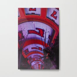 Lucky Number 7, Fremont Street Experience Downtown Las Vegas Metal Print