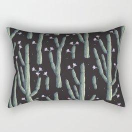 Beautiful cacti bloom Rectangular Pillow