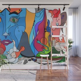 The weekend - Pop Colour Wall Mural