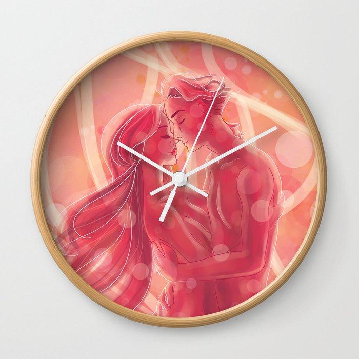 Deep Love Couple Wall Clock