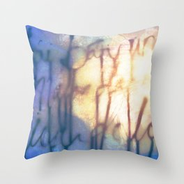 Océan de Terre Throw Pillow