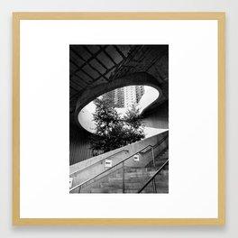 Chicago Stairway Framed Art Print