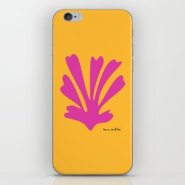 Henri Matisse, Palm Cut Out, 1943 Artwork Reproduction for Wall Art, Prints, Posters, Tshirts, Men, Women, Kids iPhone Skin