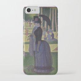 A Sunday on La Grande Jatte,  Georges Seurat iPhone Case