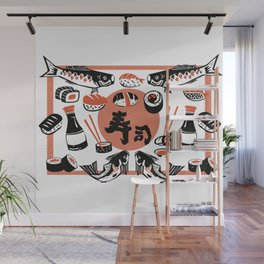 Sushi And Soy Sauce Wall Mural