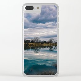 Waco Reflection Clear iPhone Case