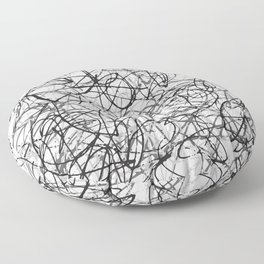Scribbles Floor Pillow