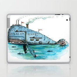 Steamboat Whale Laptop & iPad Skin