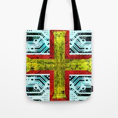 circuit board guernsey Tote Bag