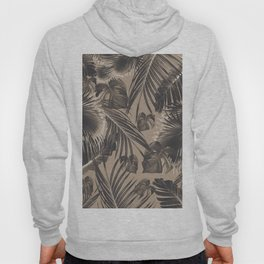 Tropical Jungle Leaves Dream #5 #tropical #decor #art #society6 Hoody