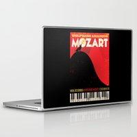 mozart Laptop & iPad Skins featuring NUR EINE NACHT! by Thomas Sullivan