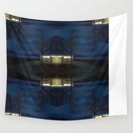 Reluctance At The Edge Of the Salt Flats Wall Tapestry