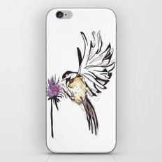Chickadee iPhone & iPod Skin