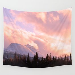 Rose Quartz Turbulence Wall Tapestry