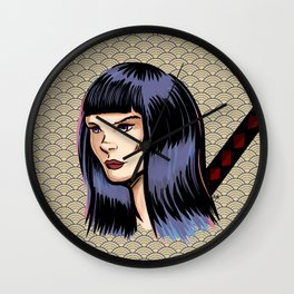 Kunoichi design. Wall Clock