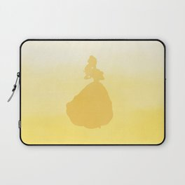 Beauty Silhouette - Beauty and the Beast Laptop Sleeve