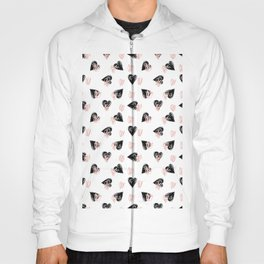 Valentine Love Heart Pattern-Mix & Match with Simplicty of life Hoody