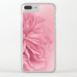 Light Pink Rose #1 #floral #art #society6 Clear iPhone Case