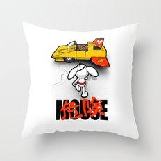 Danger-kira Mouse Throw Pillow