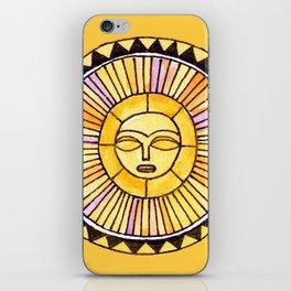 The Sun was incapable of making plans iPhone Skin