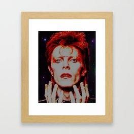 Star Man Framed Art Print
