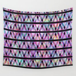 Geometric Glossy Pattern G330 Wall Tapestry