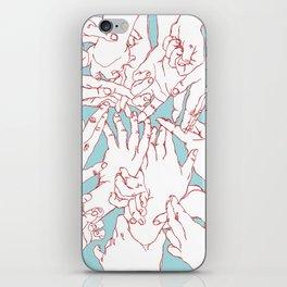 Helping Hands iPhone Skin