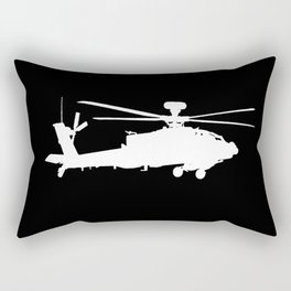 AH-64 Apache Helicopter Rectangular Pillow