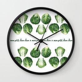 Mon petit chou chou Wall Clock