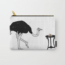 Ostriches Like Sugar Brioche Carry-All Pouch
