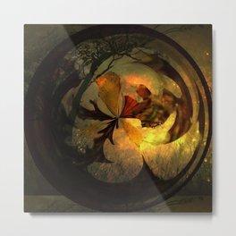 Circular Design 2 Metal Print