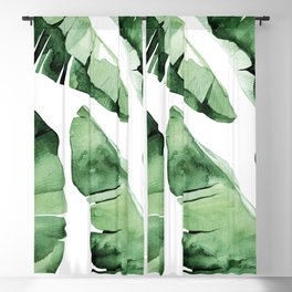 Tropical Banana Leaf Blackout Curtain